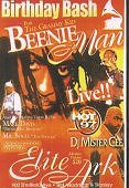 Beenie Man's B-day Bash 2003 on DVD & VHS Video